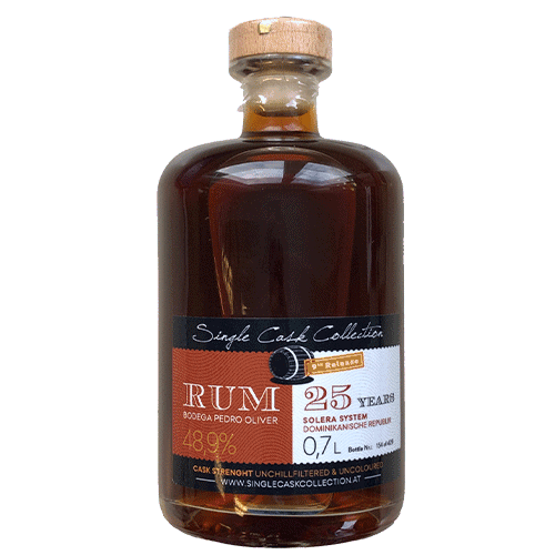 Edition Fourty - Rum 40 % - Single Cask Collection